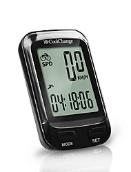 cheap -CoolChange 57019 Bike Computer/Bicycle Computer Cycling Stopwatch Waterproof Portable Wireless LCD Display Odometer Multifunctional
