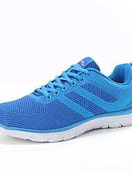 cheap -Men's Shoes Knit Spring Summer Comfort Athletic Shoes Running Shoes for Athletic Outdoor Orange Red Blue