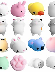 cheap -LT.Squishies Squeeze Toy / Sensory Toy Animal Animal Office Desk Toys / Stress and Anxiety Relief / Decompression Toys 5pcs Adults' Gift
