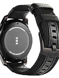 preiswerte -Uhrenarmband für Gear S3 Frontier Gear S3 Classic Samsung Galaxy Klassische Schnalle Leder Nylon Handschlaufe