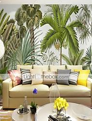 Недорогие -3d тропические леса птица индивидуальные большие обои настенные росписи обои установлены спальня ресторан телевизор фон