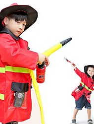 cheap -Career Costumes Cosplay Costume Kid's Halloween Children's Day Festival / Holiday Halloween Costumes Yellow Ink Blue Red Holiday More