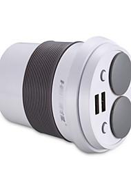 abordables -Cargador de Coche Cargador usb USB Multisalida / QC 3.0 2 Puertos USB 3.1 A DC 12V-24V para