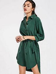 dámská polyesterová sada v krku hluboká v klasickém límci