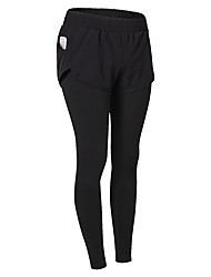 baratos -Mulheres Calças de Corrida - Verde, Azul, Cinzento Esportes Sólido Calças / Leggings Exercício e Atividade Física Roupas Esportivas Respirabilidade Com Stretch