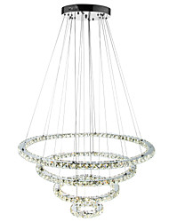 cheap -Pendant Light Ambient Light - Crystal Dimmable LED Dimmable With Remote Control, Traditional / Classic Modern / Contemporary, 110-120V