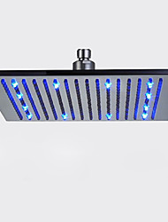 cheap -Contemporary Rain Shower Brushed Feature - Rainfall LED, Shower Head