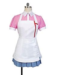 economico -Ispirato da Dangan Ronpa Cosplay Anime Costumi Cosplay Abiti Cosplay Altro Manica corta Top Gonna Grembiule Per Unisex