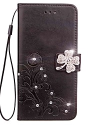cheap -Case For Sony Xperia XZ2 Xperia L2 Rhinestone Flip Embossed Full Body Cases Mandala Butterfly Hard PU Leather for Sony Xperia Z2 Sony