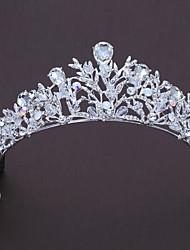 cheap -Alloy Tiaras with Rhinestone / Crystal 1pc Wedding / Birthday Headpiece
