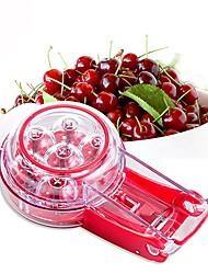 baratos -Utensílios de cozinha ABS Gadget de Cozinha Criativa Para a Casa Cereja Fruta Removedor de sementes 1pç
