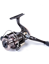 cheap -Fishing Reel Spinning Reel 5.2:1 Gear Ratio+3 Ball Bearings Hand Orientation Exchangable Sea Fishing