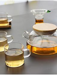 Недорогие -стекло Heatproof 5 ед. Ситечко для чая