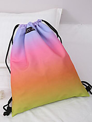 preiswerte -Damen Taschen Nylon Rucksack Ausgehöhlt für Normal Rote / Gelb / Regenbogen