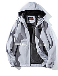 cheap -Men's Teen Active Basic Jacket-Solid Colored