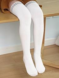 abordables -Enfants Garçon / Fille Coton / Polyester Chaussettes & Bas Blanc / Noir / Gris Taille unique