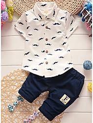 cheap -Baby Boys' Polka Dot Short Sleeves Clothing Set