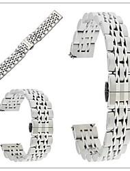 abordables -Bracelet de Montre  pour Gear S3 Frontier Gear S3 Classic Samsung Galaxy papillon Boucle Métallique Acier Inoxydable Sangle de Poignet