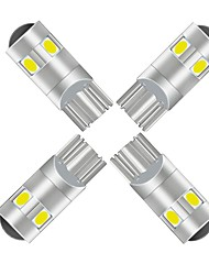 cheap -20pcs T10 Car Light Bulbs 5W SMD 3030 400lm 5 LED Exterior Lights For universal All Models All years
