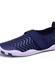 Недорогие -Муж. Легкие подошвы Ткань Лето Удобная обувь Спортивная обувь Беговая обувь / Для фитнеса / Для плавания Черный / Темно-синий / Серебряный