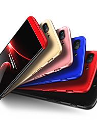 Недорогие -Кейс для Назначение OnePlus One Plus 5 / OnePlus 5T Защита от удара Чехол Однотонный Твердый ПК