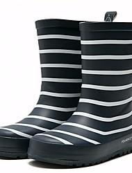 baratos -Para Meninos / Para Meninas Sapatos Borracha Outono / Inverno Botas de Chuva Botas para Azul Escuro / Vermelho