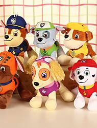 abordables -Perros Animal Animales de peluche y de felpa Confortable Encantador Regalo 4pcs