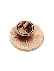 abordables -Femme Broche Alliage Forme de Cercle Rose Pailleté Basique Mode Bijoux Quotidien Rendez-vous Bijoux de fantaisie