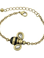 cheap -Women's Chain Bracelet - Bee Vintage, Basic Bracelet Gold For Date / Street