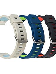 Недорогие -Ремешок для часов для Gear S3 Frontier Samsung Galaxy Современная застежка силиконовый Повязка на запястье