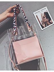 povoljno -Žene Torbe PU Tote torbica Patent-zatvarač za Zabave Kauzalni Sva doba Obala Crn Blushing Pink Kava