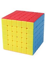Недорогие -Кубик рубик 1 шт MoYu D0911 Радужный куб 6*6*6 Спидкуб Кубики-головоломки головоломка Куб Глянцевый Мода Подарок Универсальные