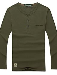economico -Per uomo T-shirt da escursione Esterno Asciugatura rapida Traspirante Traspirabilità T-shirt N/D Campeggio e hiking Attività all'aperto