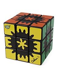 Недорогие -Кубик рубик 1 шт LANLAN 1 Радужный куб 3*3*3 Спидкуб Кубики-головоломки головоломка Куб Глянцевый Мода Подарок Универсальные