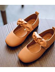 economico -Da ragazza Scarpe PU (Poliuretano) Primavera / Autunno Comoda / Scarpe da cerimonia per bambine Ballerine per Nero / Marrone / Verde