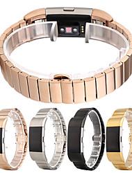 abordables -Bracelet de Montre  pour Fitbit Charge 2 Fitbit papillon Boucle Acier Inoxydable Sangle de Poignet