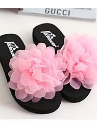 cheap -Women's Shoes EVA Summer Comfort Slippers & Flip-Flops Wedge Heel for Casual Purple Yellow Pink