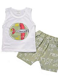 povoljno -dječakova solidna odijela, pamučno ljeto sive mornarice plavo narančasto zeleno