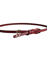 abordables -Mujer Legierung Cinturón Slim - Bonito Un Color