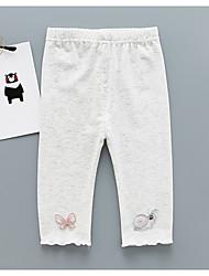 cheap -baby daily jacquard pants, polyester street chic light green yellow purple gray white 80 110 100 90