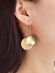cheap -Drop Earrings - Fashion Gold / Silver For Daily / Date