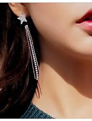 cheap -Women's Tassel Star Stud Earrings / Front Back Earrings - Simple / Tassel / Fashion Silver Line Earrings For Wedding / Evening Party
