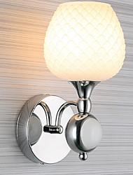Недорогие -Водонепроницаемый Модерн Настенные светильники Назначение Гостиная Металл настенный светильник 220-240Вольт 40W