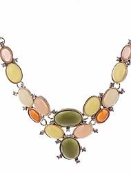 Недорогие -Заявление ожерелья - Свисающие Милая, Мода Цвет радуги 46 cm Ожерелье Назначение День рождения, Для вечеринок