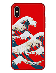 abordables -Coque Pour Apple iPhone X iPhone 8 Plus Motif Coque Bande dessinée Flexible TPU pour iPhone X iPhone 8 Plus iPhone 8 iPhone 7 Plus iPhone