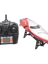 baratos -Barco Com CR H106 ABS 4pcs Canais 26-28km/h KM / H