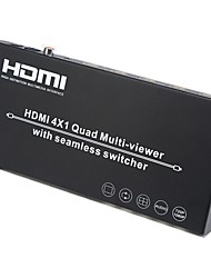 abordables -Factory OEM SNSW0401QM 8 HDMI 1.3 HDMI 1.4 Audio jack 3,5 mm RCA COAX HDMI 1.3 HDMI 1.4 Audio jack 3,5 mm RCA Femelle - Femelle 1080P 5.0