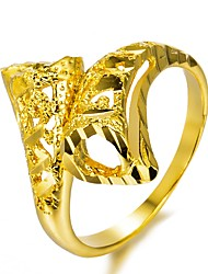 cheap -Gold Plated Band Ring - Geometric Fashion Gold Ring For Party / Gift