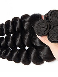 cheap -Brazilian Hair Wavy Human Hair Extensions 3 Bundles 8-28 inch Human Hair Weaves Extention / Hot Sale Natural Black Human Hair Extensions All