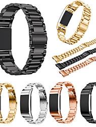 abordables -Bracelet de Montre  pour Fitbit Charge 2 Fitbit Bracelet Sport Acier Inoxydable Sangle de Poignet